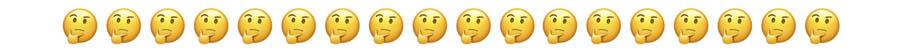Emoji pensar