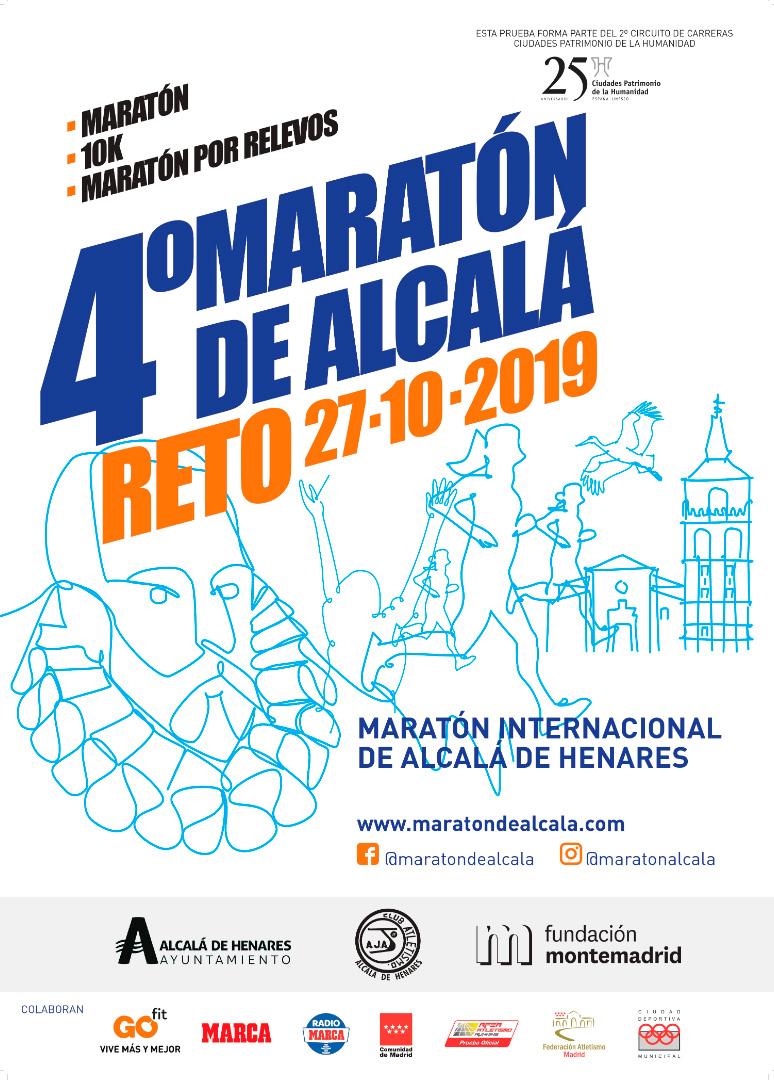 cartel maraton alcala