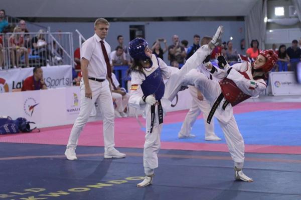Resultado de imagen de adriana cerezo iglesias taekwondo