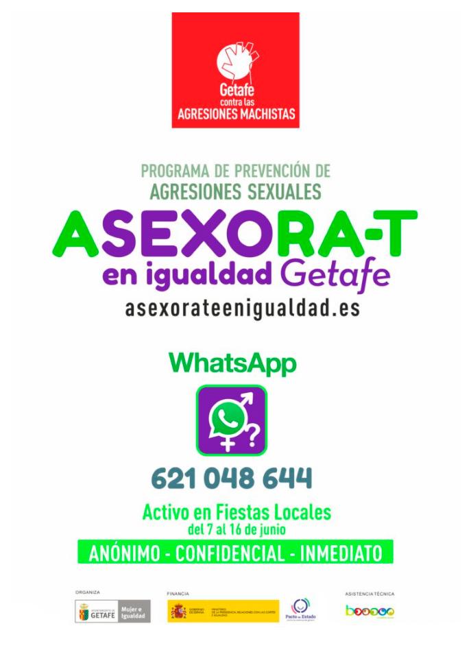 asexorat getafe whatsapp