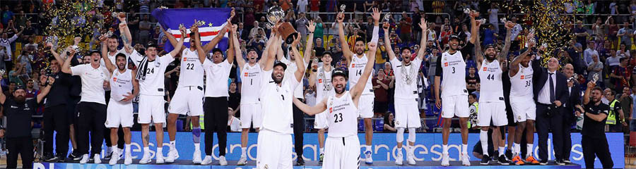 Baloncesto Real Madrid campeon liga