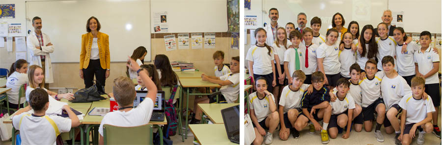 reyes maroto en el colegio alkor y villakor