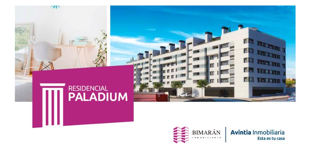 viviendas que se construirán en el edificio paladium