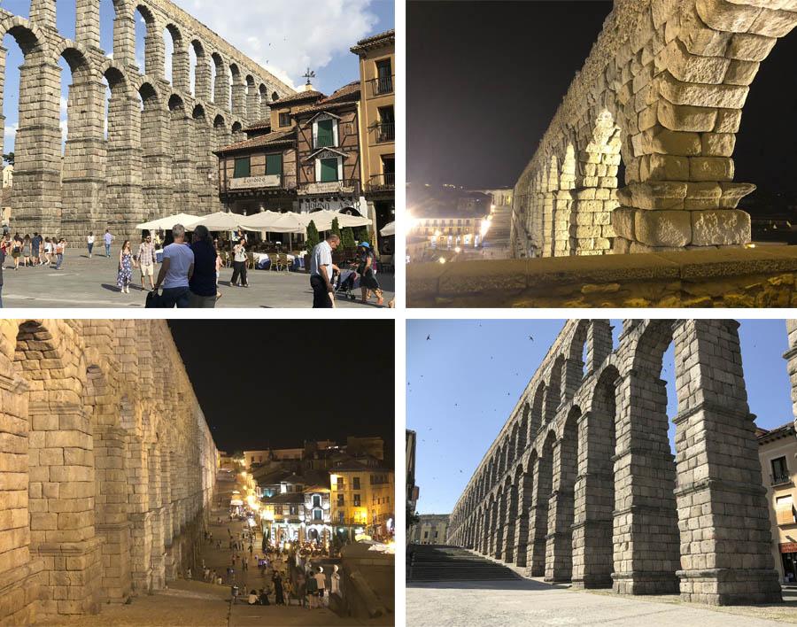 acueducto de segovia, patrimonio de la humanidad, cultura españa, acueducto romano