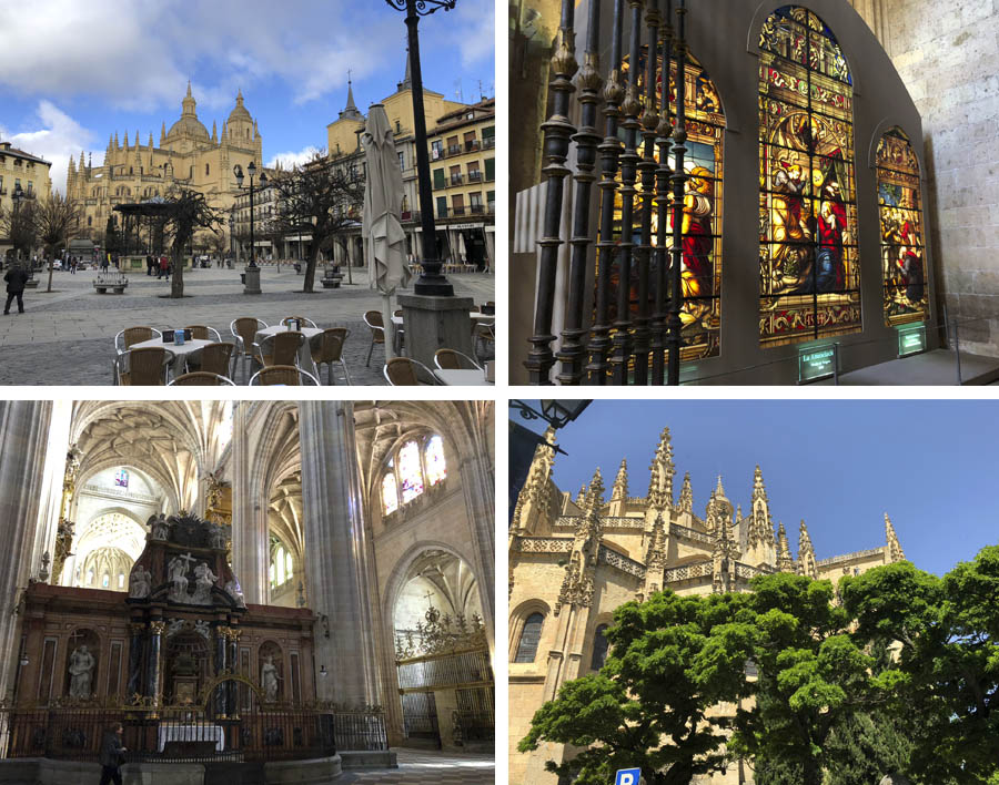 catedral de segovia, catedral gotica, la dama de las catedrales,