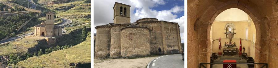 iglesia de la veracruz, planta octogonal, caballeros templarios, orden del temple