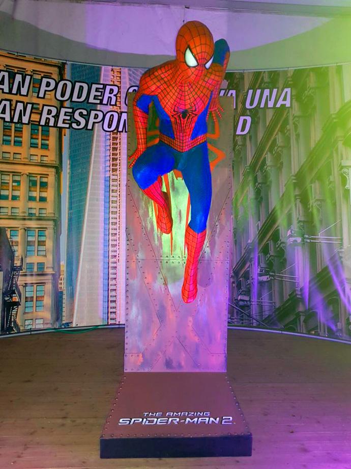 spiderman torrejon