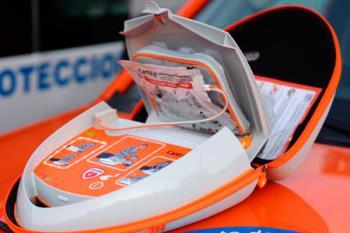 Amplía a 63 los desfibriladores de uso destinado a personas no sanitarias