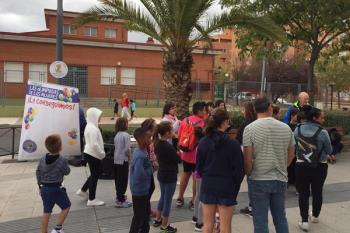 La gymkana se celebró en el boulevard Islas Medas