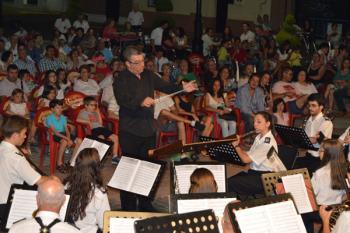La banda de música municipal dará un concierto el día 11 de septiembre