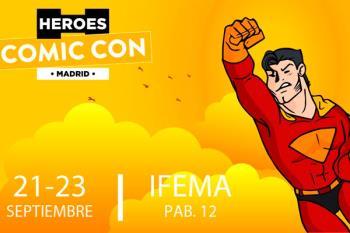 Aterriza en Madrid el mayor evento de entretenimiento entre el 21 y 23 de septiembre, Héroes Comic Con