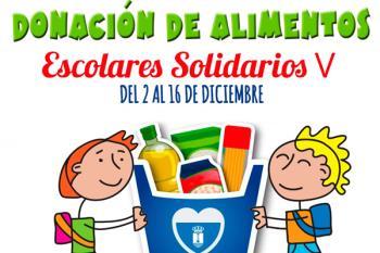 La campaña 'Escolares Solidarios' estará activa hasta el 16 de diciembre
