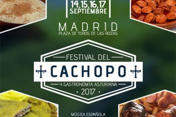 La Guía del Cachopo celebra la 3ª edición de su festival entre el 13 y el 16 de septiembre en la Plaza de Toros de Las Rozas