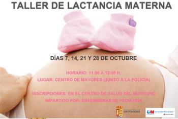 Arroyomolinos ofrece talleres gratuitos para resolver dudas y asesorar a madres primerizas
