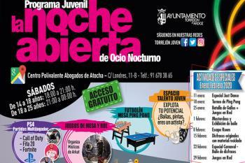 Videojuegos, baile y disfraces se da cita este fin de semana en el programa de ocio juvenil de Torrejón