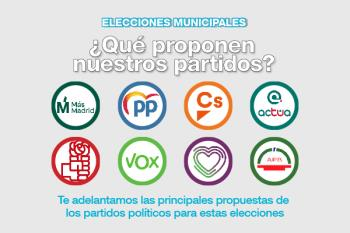 Los candidatos a la alcaldía de los principales partidos comparten con los lectores de Soyde. algunas de sus principales propuestas para la próxima legislatura 2019-2023