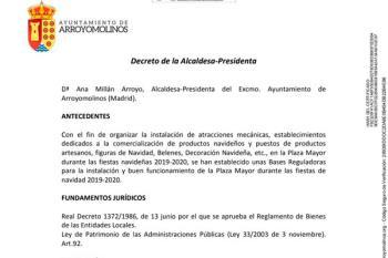 El plazo para presentar solicitudes en el ayuntamiento finaliza este jueves 12 de diciembre