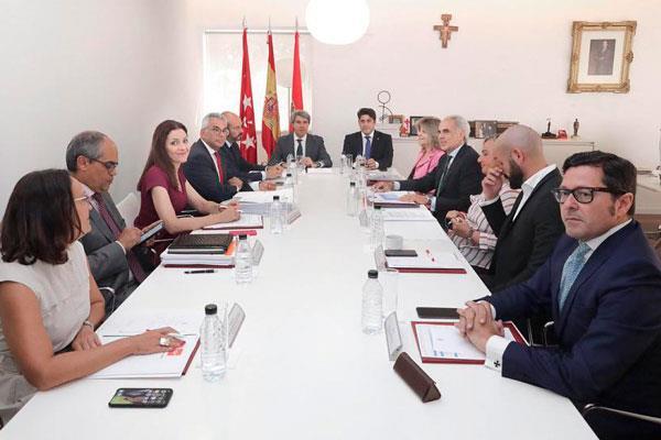 Ángel Garrido ha anunciado que habrá un nuevo colegio en Alcorcón