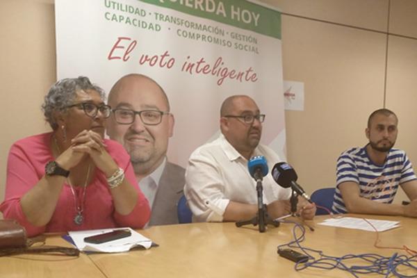 """Óscar Valero: """"Somos los que miramos a los ojos de la gente y resolvemos sus problemas"""""""