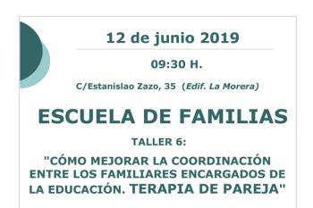 El taller se impartirá el 12 de junio a las 09:30 horas