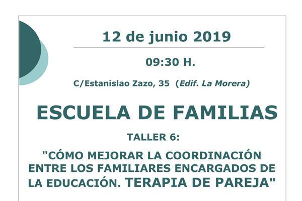 Último taller de la Escuela de Familias en Humanes de Madrid