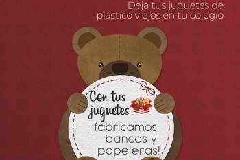La campaña, impulsada por Esmasa y la Concejalía de Educación e Infancia, pretende fomentar el reciclaje