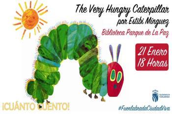 'The very hungry carterpillar' se cuela en la Biblioteca Parque de la Paz