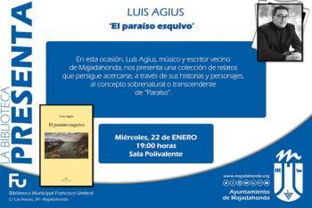 Este vecino majariego presenta su obra este miércoles, en la Biblioteca Municipal Francisco Umbral