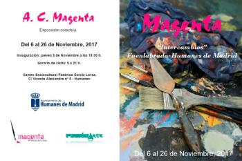 """La Asociación Cultural """"Magenta"""" expondrá en el municipio"""