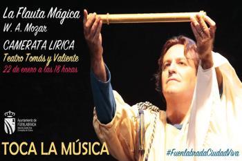 La Camerata Lítica de España trae este espectáculo el teatro Tomás y Valiente