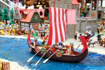 El Museo de la Ciudad de Móstoles inaugura hoy su particular muestra de Playmobil centrada en el universo vikingo