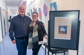 La torrejonera Paloma M. Ortiz comparte su arte en una exposición que estará abierta al público hasta el 30 de enero