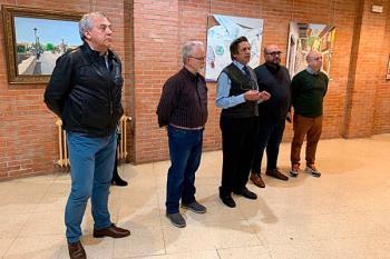 Las obras, una exposición de la Asociación de pintores amigos de Miguel Ángel Oyarbide