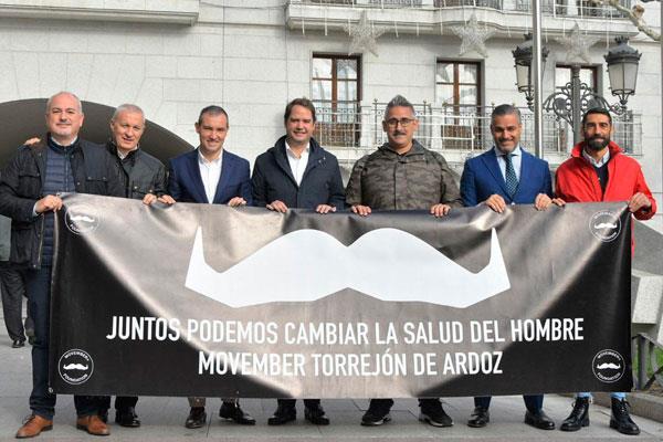 'Movember': la batalla contra el cáncer de próstata se libra en Torrejón