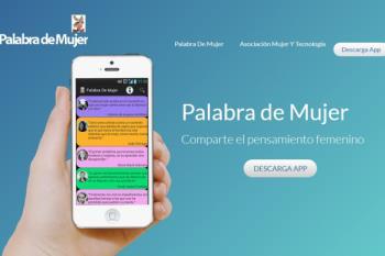 Esta app está diseñada para difundir el pensamiento de mujeres que destacan por su contribución en distintos ámbitos