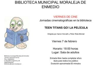 Este viernes se celebran las 'Jornadas cinematográficas' en la biblioteca