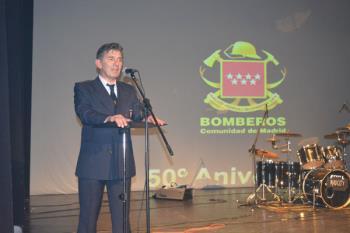 Villaviciosa acoge la celebración del 50 aniversario del Cuerpo de Bomberos de la Comunidad de Madrid