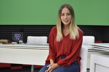Noelia Núñez visita los estudios de Soyde