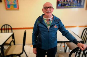 A sus 81 años uno de los deportistas más ilustres de Getafe, Francisco González