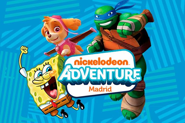 """Nickelodeon Adventure"" se inaugura en Madrid"