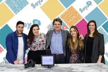 El recién estrenado alcalde de Fuenlabrada, Javier Ayala, visita los estudios de Soyde. y nos muestra su hoja de ruta