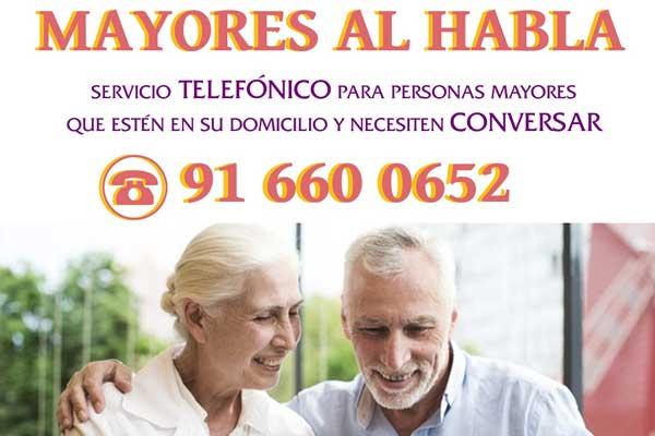 El Ayuntamiento de Torrejón ha puesto en marcha el servicio de seguimiento telefónico para evitar su aislamiento