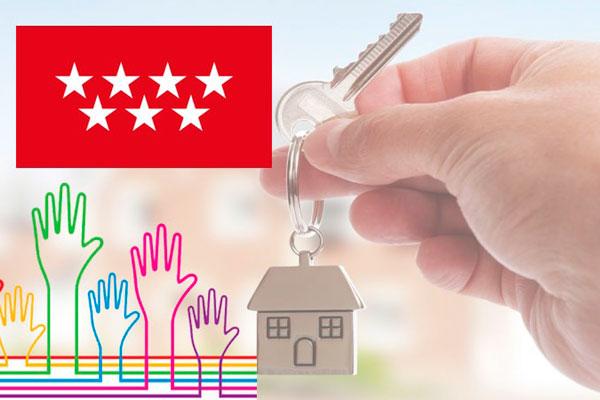 La Comunidad de Madrid publica el listado de los adjudicatarios que recibirán hasta el 50% de la renta de su alquiler
