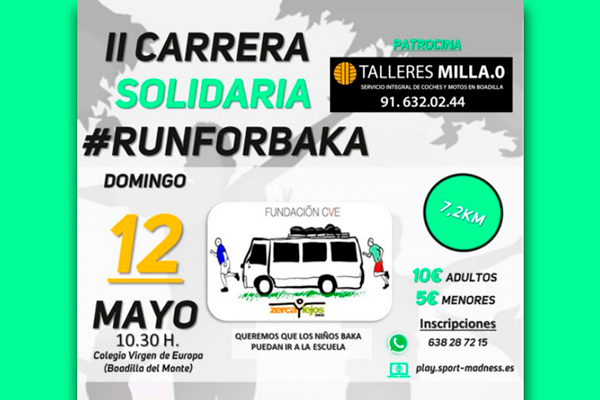 Este domingo se celebra la segunda edición de esta carrera solidaria