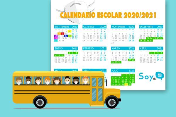 Ya conocemos las fechas de inicio, las vacaciones y los festivos del próximo curso escolar