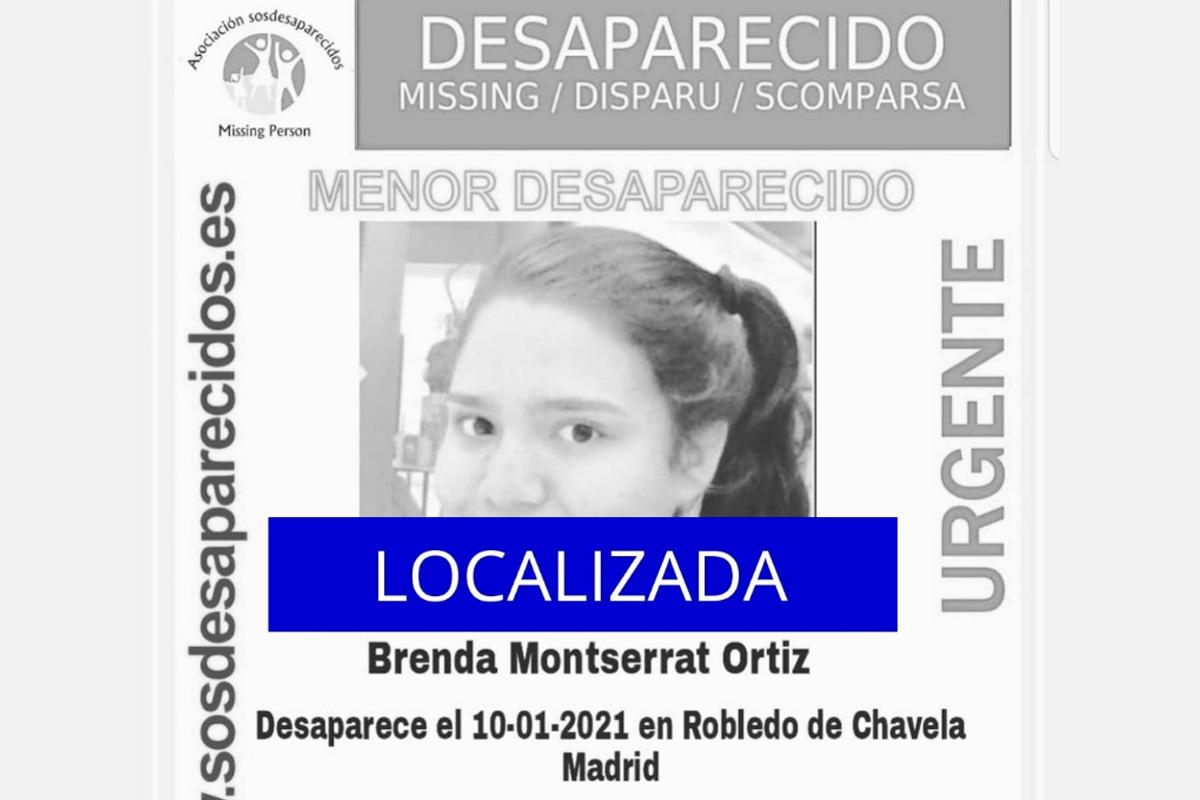 No se sabe nada de ella desde el 10 de enero cuando desapareció en Robledo de Chavela (Madrid)