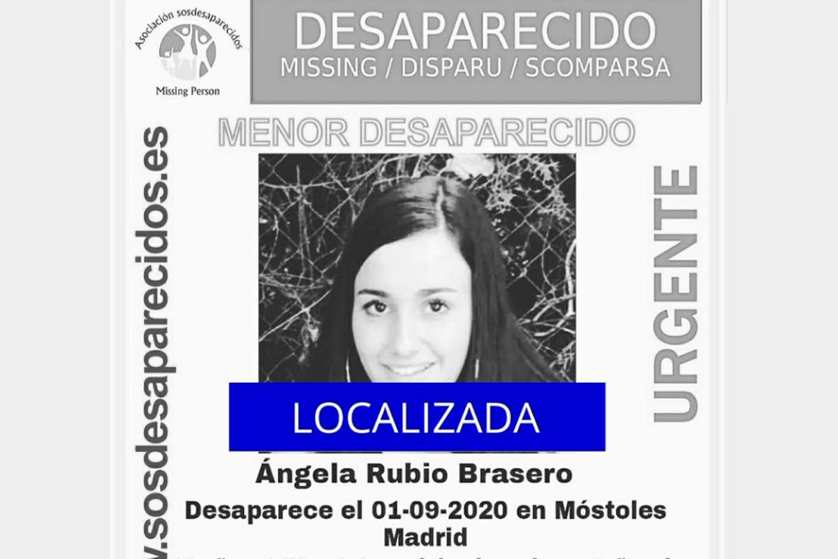 Ángela tiene 16 años y lleva desparecida más de una semana