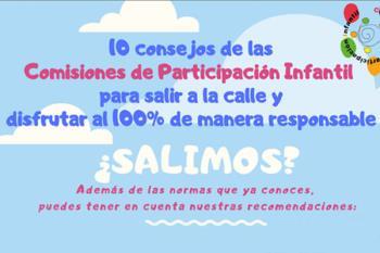 Los niños y niñas de las Comisiones de Participación Infantil y Adolescente de Alcalá han elaborado una lista de buenas prácticas