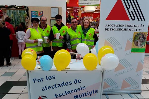 La asociación desarrollará actividades en centros comerciales, hospitales y calles principales de Alcorcón y Móstoles