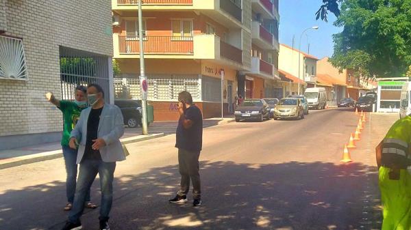 20 nuevas plazas de aparcamientos en San Fernando